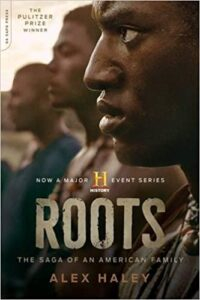 Book cover of Roots by Alex Haley